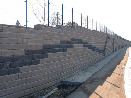 An image of finished concrete work in San Leandro.